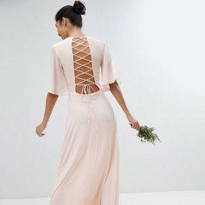 NWT TFNC Bridesmaid dress (lace up back)